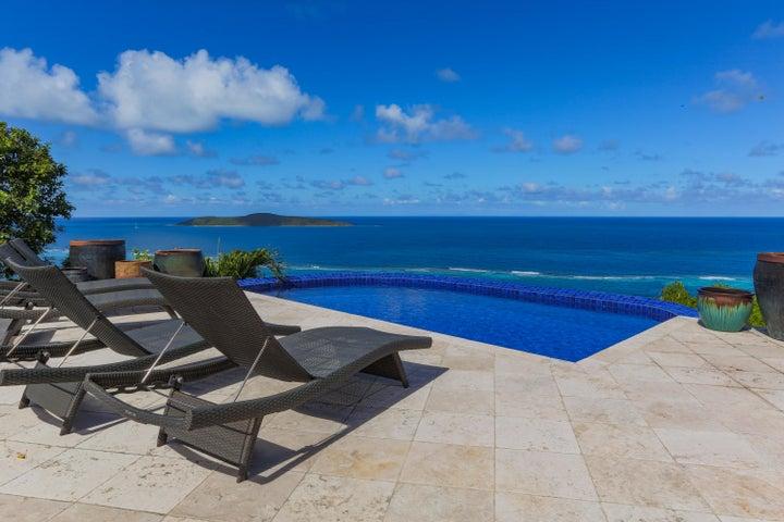 Pool patio & Buck view