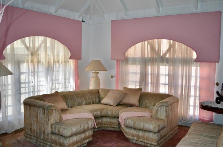 Lofty ceilings add grandeur to the space