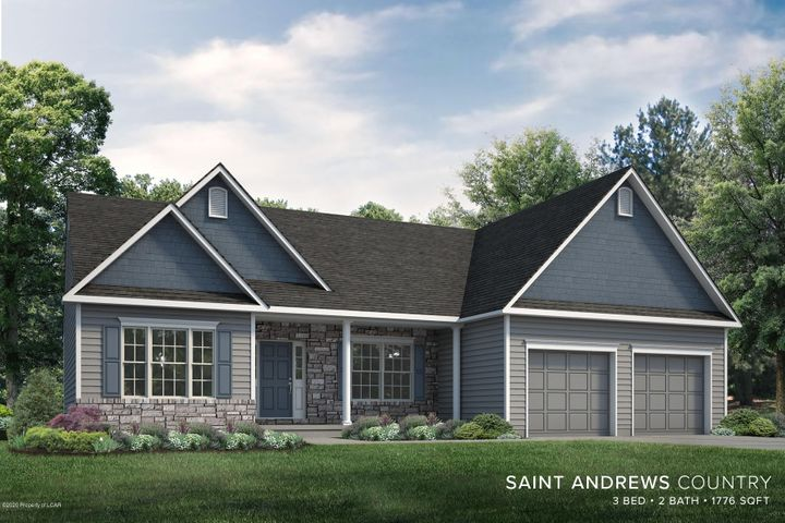 Artists Rendition of home to be built