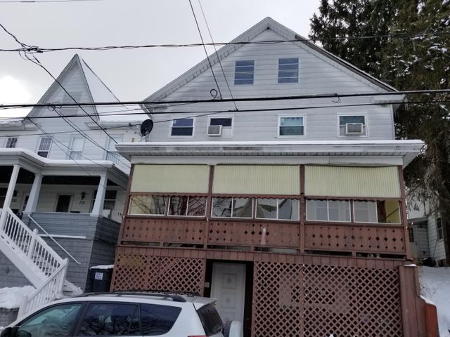 Lots of space in this Freeland area single. 5 bedrooms, 2 baths, first floor laundry hookups, and oil heat. Bonus electric hot water heater allows you to save oil. Enclosed porch and entry area cuts down on winter work. Check it out today!