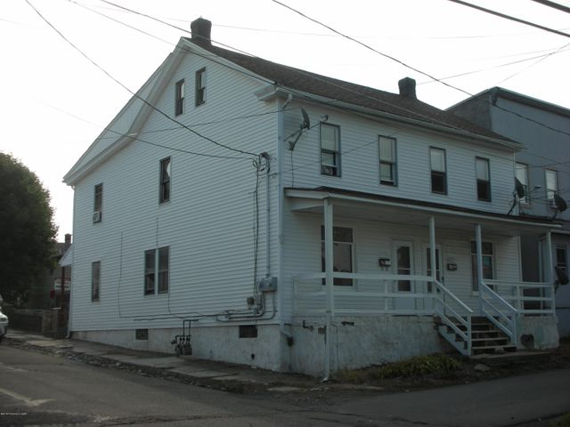 Come check out this Hazleton two family dwelling. This is a good opportunity for an investment property or you can choose to live-in one side and let other side help with your expenses! This property has 2 separate heating systems, it features three bedrooms and one bath  on each side, a large yard, and all within walking distance of all amenities.