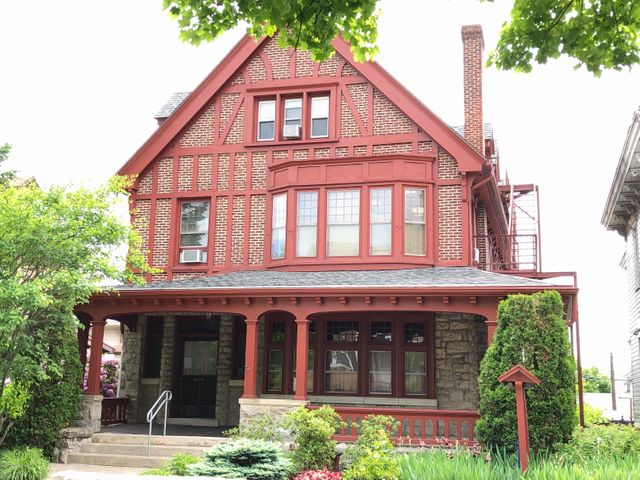 """HAZLETON  ''Victoria Era''  house  with great possibilities. Currently utilized as a law office but can be readily converted back into a large single home, duplex or apartment building. Loads of charm including a grand entry foyer with open stairway,beamed ceilings original wood trim and large fireplace. All three levels are finished. Fire escape exits. Off street parking in rear for ... approximately 8 vehicles. A """"Must see"""" property."""