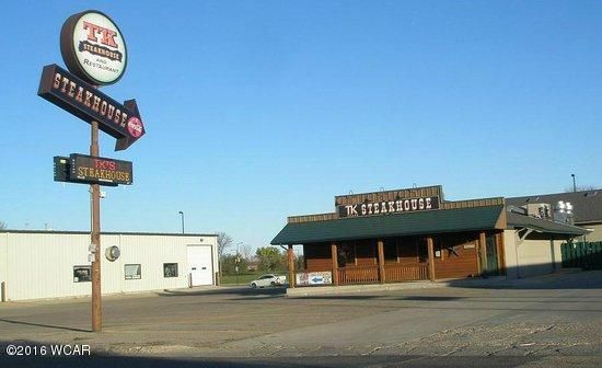 This listing is for TK Steakhouse & Pappy's property for $499,000. This property is in a great location right next to the college. and on Hwy 19.The restaurant and bar have a lot of potential with abundant seating. There is room for approximately 75 people in the dining room, 100 in the banquet room and another 100 in the bar.