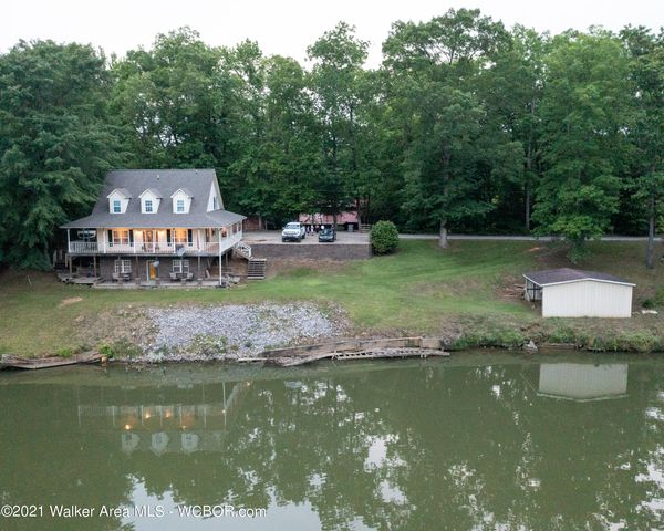 Located on Lost Creek part of Warrior River.
