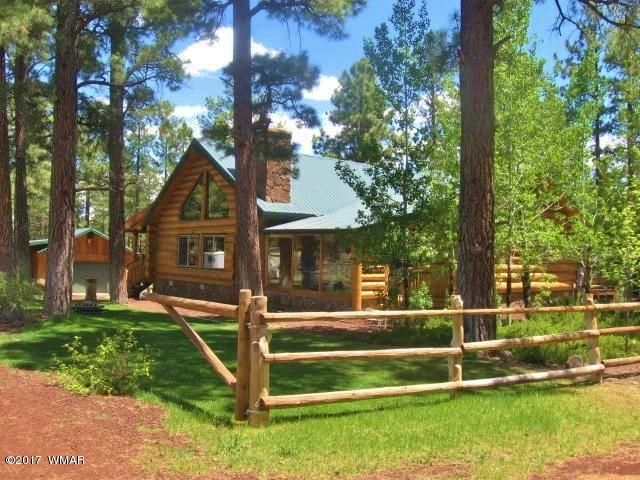 Welcome to this unique, authentic log home.