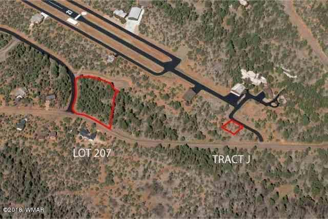 BEAUTIFUL LOT AT NORTH END OF PRIVATE MOGOLLON AIRPARK. INCLUDES HANGAR LOT.ONE OF THE LARGEST LOTS WITH NICE PINES. GOOD BUILDING SITES. SEASONAL WASH FLOWS THROUGH THE PROPERTY. FREQUENT WILDLIFE. NATIONAL FOREST ACROSS STREET. REASONABLY PRICED WITH SELLER CARRY TERMS.CALL: JIM BURTON, 602-647-9165 OR COLISTER,  LEE LARSON: 602-284-9138