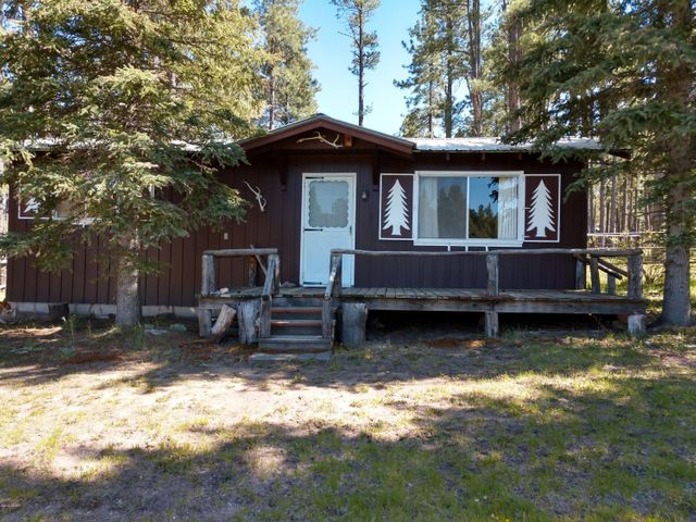 Two charming cabins on 3/4 of an acre, totally fenced.