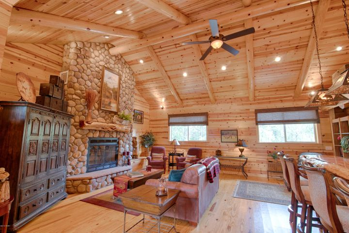 A true log home - perfectly crafted an appointed with all the luxury touches for living.