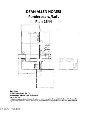 1720 S Torreon Lakes, Show Low, AZ 85901