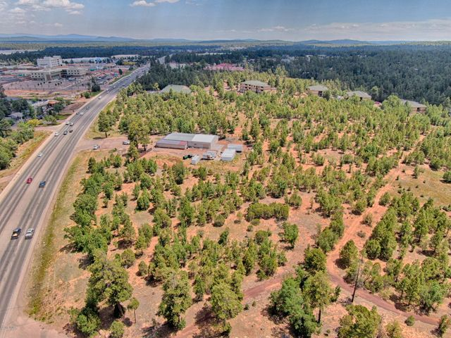 $220,000 BELOW APPRAISAL!!!  This rare 4.91 acre parcel is prime for development in the Hub of the White Mountains.  Across the street from the Park Pineway Shopping Center and less than 1/2 mile from Summit Healthcare's new and expanded facilities.  Great commercial possibilities.  Total of two parcels bordered by Highway 260, Cub Lake Rd, Crystal Dragon and Loft 54 Furnishings.