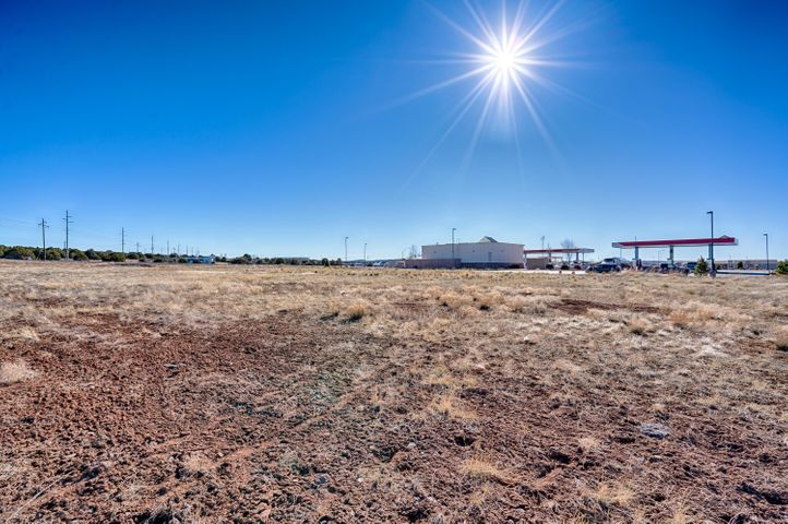 1.81 acres of commercial property bordering the Maverik fuel station in Show Low on the corner of Highway 60 and 77. Lots of potential for this property and a great location near the high traffic junction of surrounding areas.